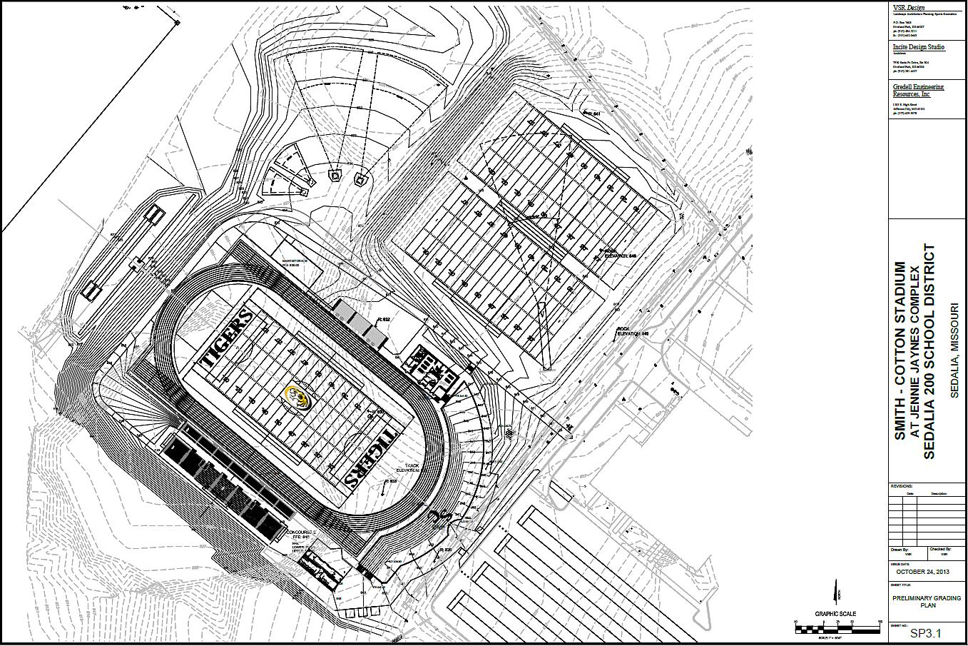 Sedalia 200 school board approves stadium layout design