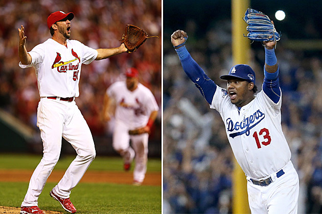 St. Louis Cardinals and Los Angeles Dodgers