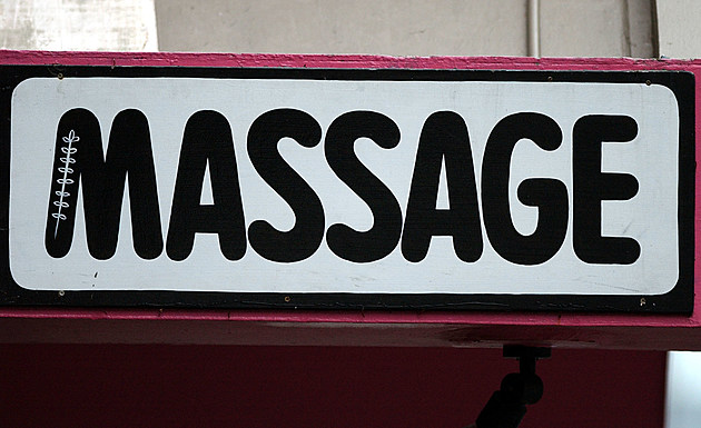Advertising for a Massage parlor on Auckland's Kar